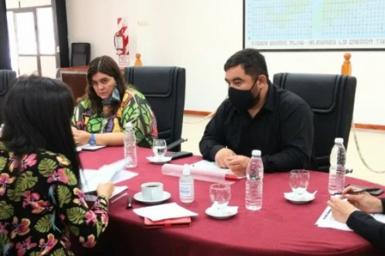 Comisiones en el Concejo Deliberante.