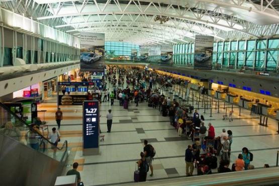 Aeropuerto (Foto Telám)