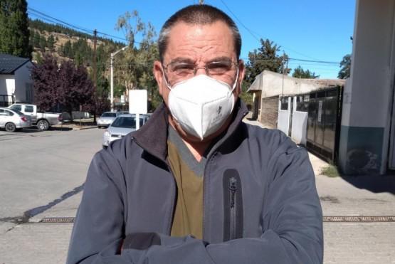 Sergio Cardozo, director del Hospital Zonal Esquel.