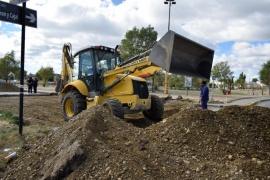 Sigue la reparación de asfalto en calles de Río Gallegos