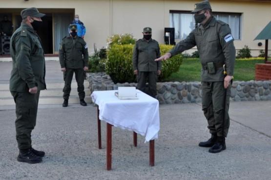 Matías Aguirre es el Segundo Jefe de Gendarmería de El Calafate.