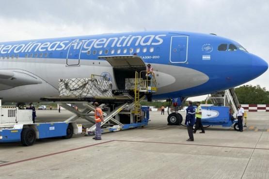 Nuevo vuelo de Aerolíneas Argentinas.
