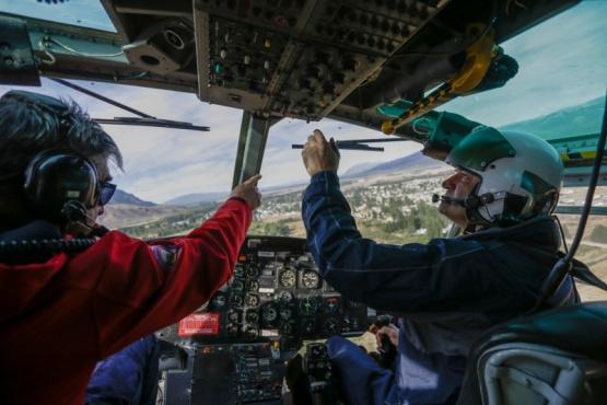 Incendios en la Cordillera: El Gobierno del Chubut avanza con el plan de control del fuego