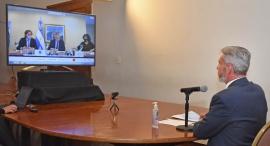 Mariano Arcioni analizó con el Presidente y gobernadores la situación sanitaria