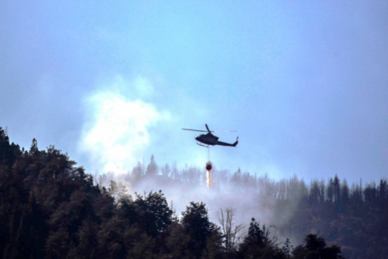 Helicópteros en la zona.