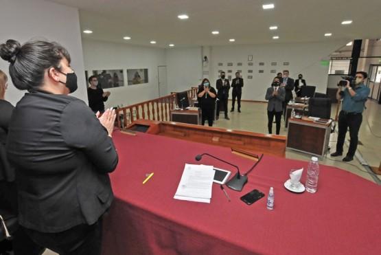 Sesión de Concejo Deliberante de Río Gallegos.