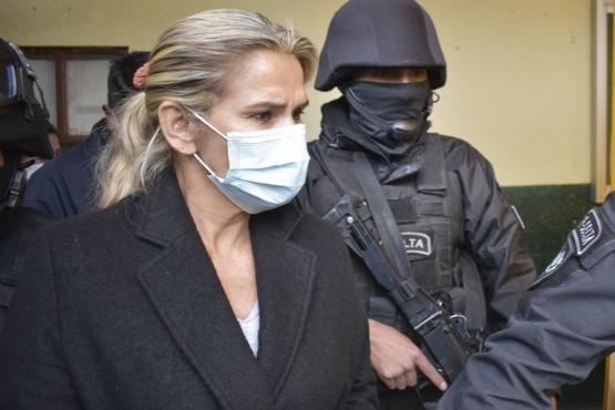 Jeanine Áñez se declaró en huelga de hambre.