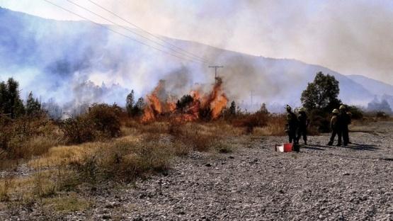 Murió otro poblador por quemaduras en los incendios