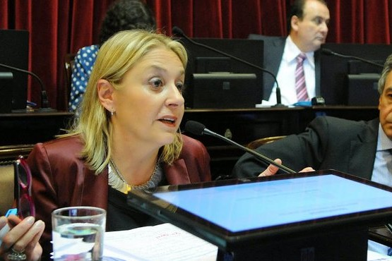 Ex senadora Liliana Negre