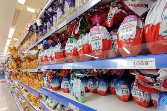 Los huevos de chocolate han registrado aumentos superiores al 100%