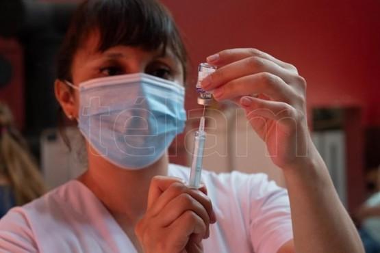 Se aplicaron más de 14.000 dosis de vacunas