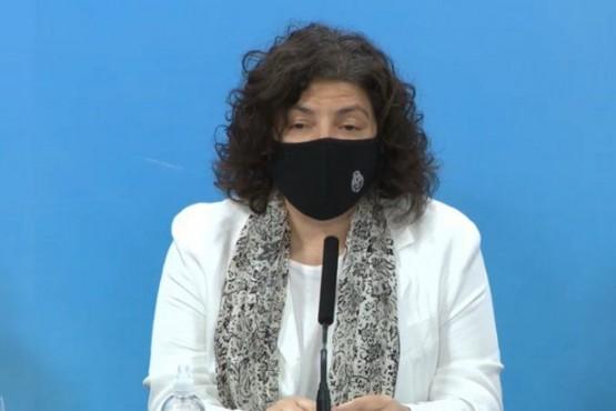 La ministra de Salud de la Nación,Carla Vizzotti.