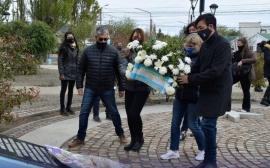 En Río Gallegos también plantaron Memoria