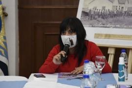 Nadia Astrada recordó a los desaparecidos y a los fusilados en Santa Cruz