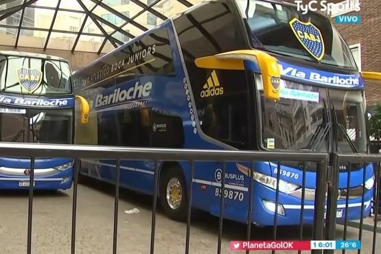 Boca chocó el micro previo al partido por Copa Argentina