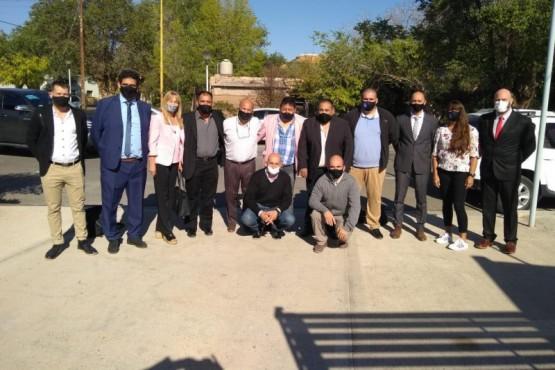 Hubo reunión de representantes regionales en Cutral Co.