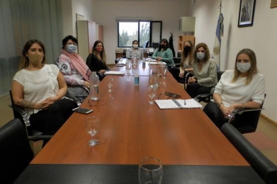 Reunión entre autoridades de la CPS y Distrigas