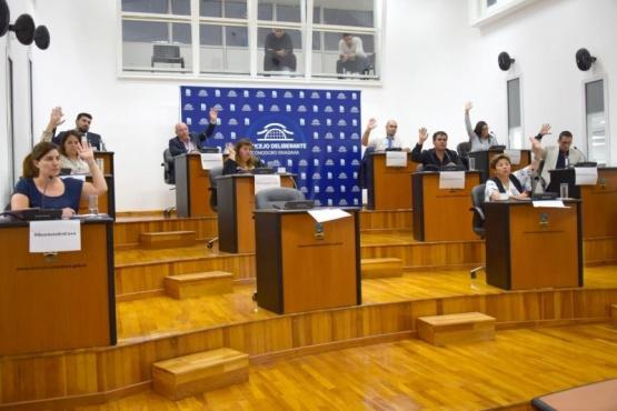 Concejo Deliberante en Comodoro Rivadavia.