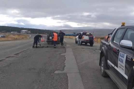 Vialidad Nacional finalizó las tareas de bacheo en la Ruta 40