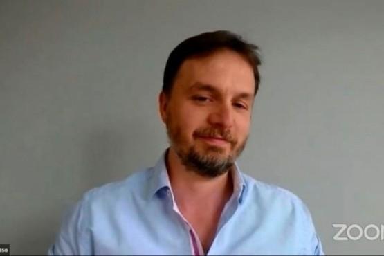 Rector de la Escuela Re Si, Mariano Mosso.