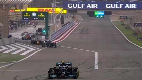 Verstappen, sobre el final, logró la primera