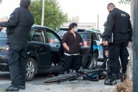 Un automovilista chocó a un ciclista menor de edad
