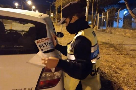 Seguridad Vial Chubut detectó 97 conductores en estado de ebriedad