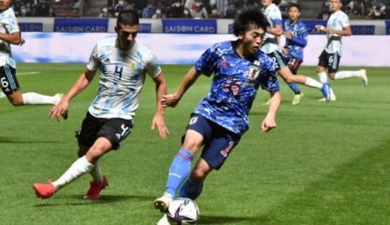 Argentina perdió 3 a 0 ante Japón en el segundo partido preparatorio