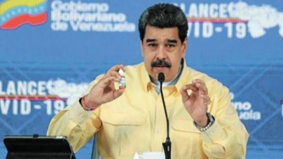 Maduro ofrece petróleo a cambio de vacunas contra el coronavirus