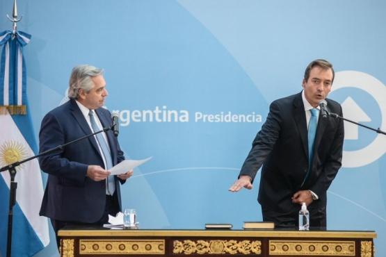Martín Soria juró como ministro de Justicia y Derechos Humanos