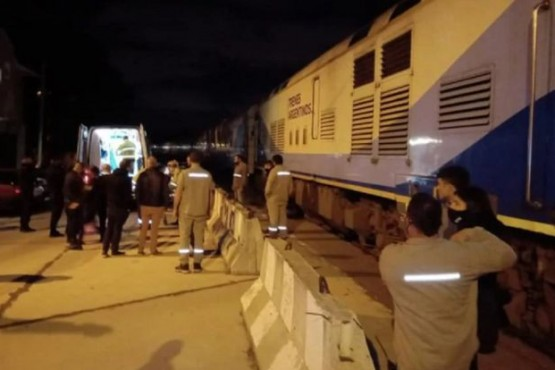 Un tren que viajaba hacia Constitución atropelló y mató a un hombre en Mar del Plata