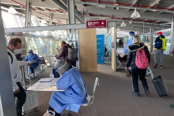 Se realizó un amplio operativo de control y testeos en el aeropuerto de El Calafate