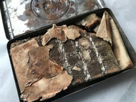 Encontraron una tableta de chocolate de hace 121 años