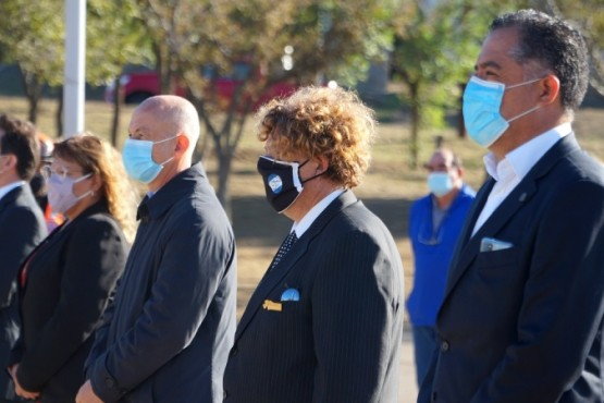 Se realizó acto conmemorativo por las Malvinas en Caleta Olivia