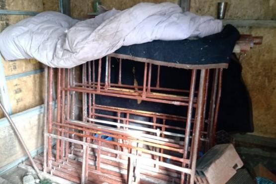 Los elementos se encontraban en la casa de una mujer allegada a la familia, los cuales fueron recuperados por el personal de la Comisaría Séptima.