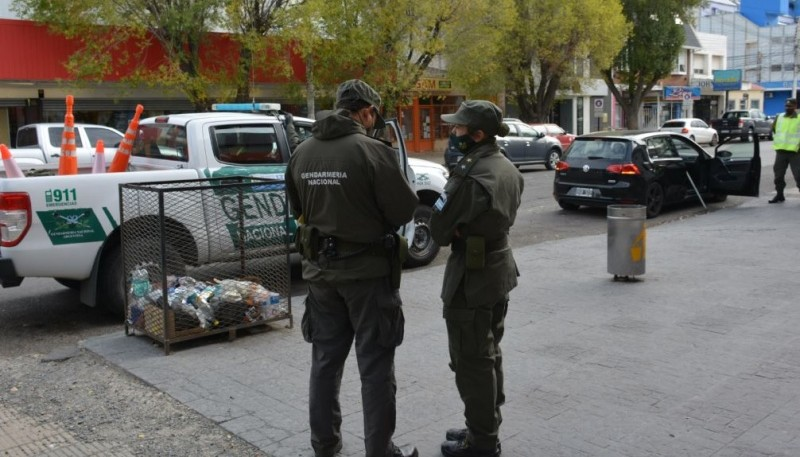 El procedimiento se realizó sobre avenida Kirchner al 700. (Foto: C.R.)