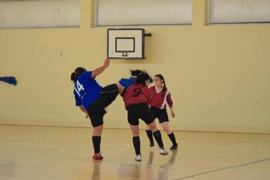 ¡Todo pelota juez! La dura entrada en el Futsal Femenino de Río Gallegos