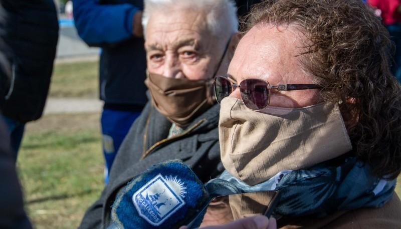 """Sonia Cárcamo: """"Ojalá alcance a ver algún día que las Malvinas sean entregadas a quien corresponde"""""""
