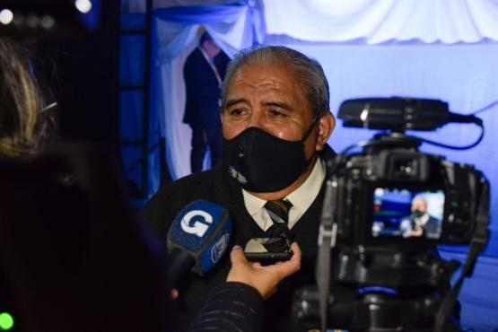 """Alfredo Tarcaya: """"El mundo hoy habla de nuestros soldados"""""""