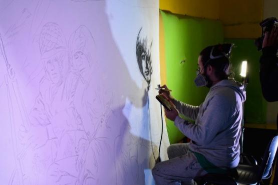 """Jonathan Garbero: """"Más allá de hacer un dibujo es poner algo personal"""""""