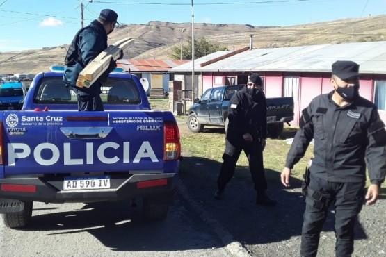 Allanamiento por hurto en Río Turbio