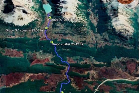 Una turista se descompensó haciendo trekking y falleció en Laguna Esmeralda