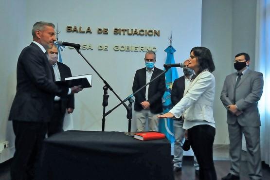 Asumió Carla Olivet como nueva Subsecretaria de Cultura de Chubut