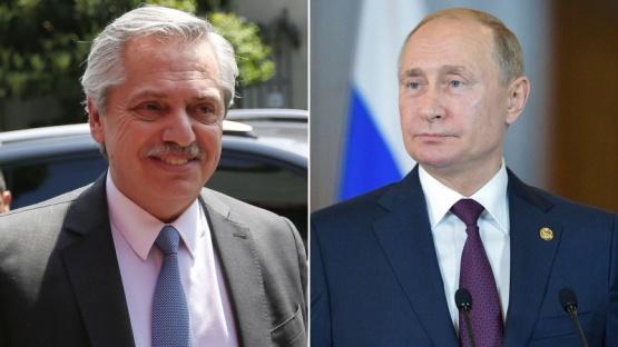 Putin llamó a Alberto Fernández y le garantizó más envíos de vacunas