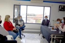 """Iris López: """"Vamos a seguir trabajando junto al Municipio de Caleta Olivia para regularizar los comercios"""""""