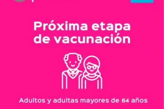 Vacunar es prevenir: Comienzan las inscripciones para mayores de 64 años