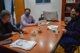 El Intendente de Río Gallegos se reunió con Pablo González y Fernando Alturria