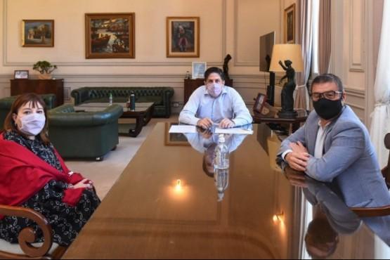 Nicolás Trotta se reunió con Cecilia Velázquez