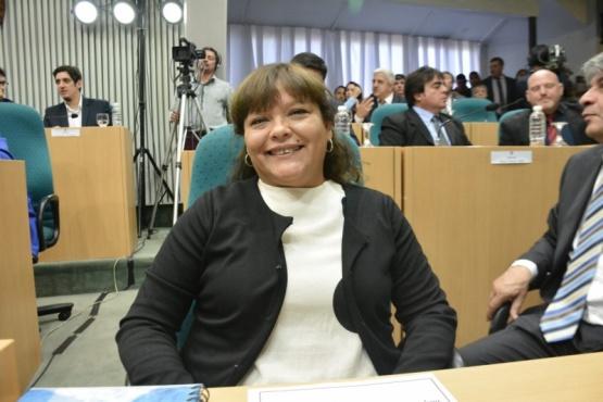 Liliana Toro, diputada por el Municipio de Caleta Olivia.