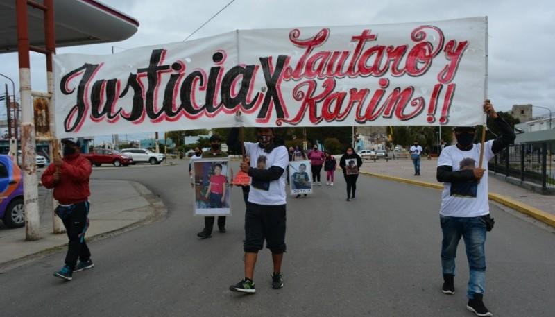 Nueva marcha por el triple crimen ocurrido en Caleta Olivia.